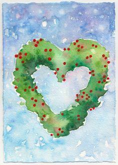 Artwork made by Johanna Ollila inspired by Josh Lanyon's Christmas Codas (see: Merry Christmas, Darling! My Dear Friend, Cover Art, Merry Christmas, Inspired, Artwork, Books, Painting, Inspiration, Merry Little Christmas