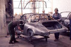 Porsche Factory, 1970