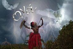 She is considered either the sister of the Orisha of storms Shango, or one of His three wives, with ...