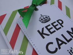 #projectgallias, kartka, urodziny, 50, keep calm, birthday, card