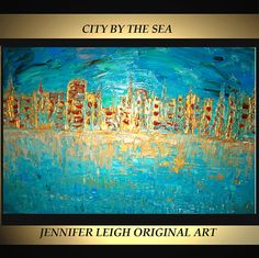 Original Large Abstract Painting Modern by SohoGallery on Etsy, $649.00