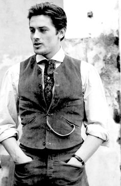 Alain Delon ~ The Leopard, 1963 Most Beautiful Man, Gorgeous Men, Marcel, Cinema France, Luchino Visconti, Jean Luc Godard, Old Flame, Old Hollywood Glamour, Actors