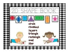 Students will trace the name of the 2-d shape, then find and color the shape, then count and write the number of shapes they found.