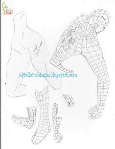 Moldes Aplique de Spiderman Spider-Man o el Hombre Araña es sin dudas uno de los superhéroes mas famosos de Marvel Comics. Es muy solicitado para regalar a