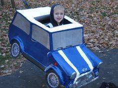 Mini Cooper car Halloween Costume | Mini Cooper Costume