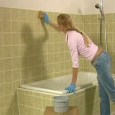 How to paint bathroom tiles - Diy, Lifestyle