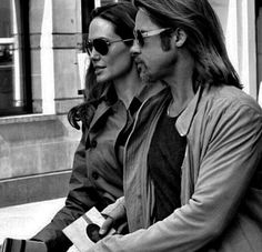 "Brad & Angie. ""Repinned by Keva xo""."