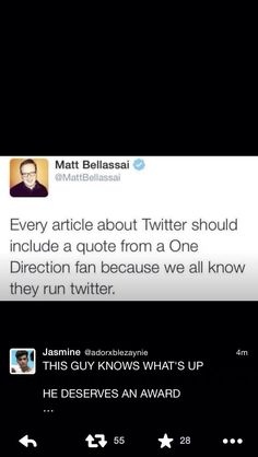 That's true!! Although I don't have Twitter I am getting in 3 years so....  I will always do that!!!!!!!