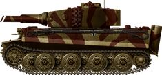 Tiger Ausf E late,  Tiger I Ausf. E, Panzer Grenadier Division Grossdeustchland, Lithuania, June 1944.