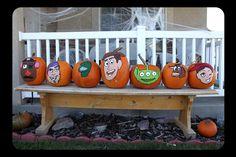 toy story pumpkins