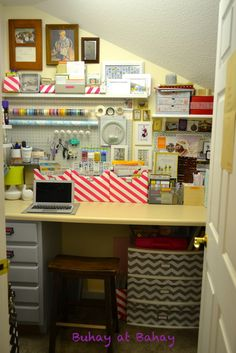 Life & home at 2102: Craft Room Reveal