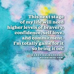 20 Being Strong Quotes To Give You Strength During Hard Times Karen Salmansohn, Fear Quotes, Life Philosophy, Quotes About Strength, Daily Motivation, Stress Management, Motivate Yourself, Happy Life, Self Love