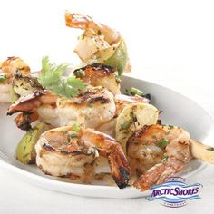 Look to Cub Foods for Quick & Easy healthy dinner ideas for the whole family! A Unique Spin To Recipes. Grilled Shrimp Kabobs, Easy Grilled Shrimp Recipes, Shrimp Skewers, Fish Recipes, Seafood Recipes, Appetizer Recipes, Easy Healthy Dinners, Healthy Snacks, Jalapeno Grill
