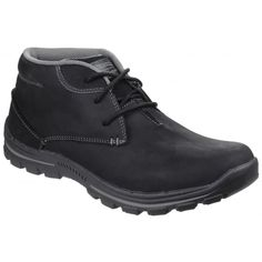 Braver Horatio Lace Up Black Casual Boots, Men Casual, Skechers, Black Boots, Brave, Lace Up, Fall, Shopping, Shoes