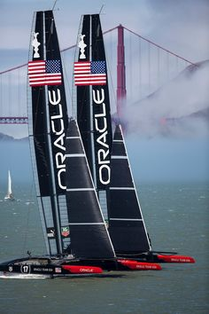 Oracle Team USA sails two AC72s in San Francisco | VSail.info