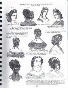 1863 hair styles