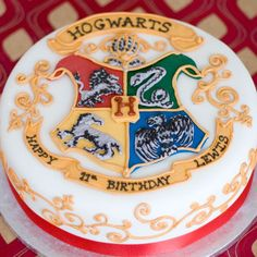 Harry Potter Birthday cake Pinteres