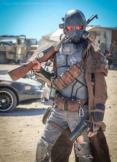 sekigan: Cosplay fallout | Post-apocalyptic world | Pinterest