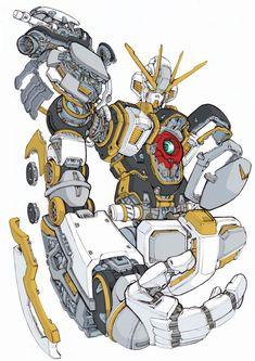 Atlas Gundam Gundam Wing, Gundam Art, Thunderbolt Gundam, Cyberpunk Rpg, Mecha Suit, Gundam Wallpapers, Gundam Mobile Suit, Custom Gundam, Mecha Anime