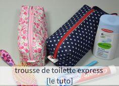 Trousse de toilette express