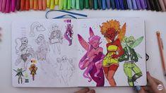 Copic Drawings, Cute Drawings, Sketchbook Inspiration, Art Sketchbook, Pretty Art, Cute Art, Mermaid Drawings, Illustration Art Drawing, Learn Art