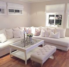 ♡ pinterest   @enticemedear ♡ Living Room Sofa, Living Room Decor, Living Rooms, Living Area, Interior Design Living Room, Living Room Designs, Home Bedroom, Bedroom Decor, All Wood Furniture