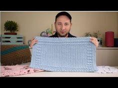 Tapete de Crochê em Alto Relevo por Marcelo Nunes - YouTube Crochet Diy, Manta Crochet, Crochet Home, Crochet Lampshade, Blanket, Youtube, Pattern, Projects, Crafts