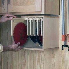 Woodworking projects diy - Table Saw Blade Locker Storage Unit Woodworking Plan, Shop Project Plan WOOD Store WoodworkingShop Popular Woodworking, Woodworking Projects Diy, Woodworking Furniture, Diy Wood Projects, Teds Woodworking, Woodworking Supplies, Woodworking Classes, Youtube Woodworking, Woodworking Jigsaw