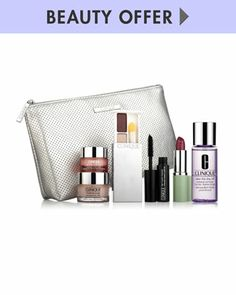 Yours with Any $65 Clinique Purchase by Clinique at Neiman Marcus.15 dic