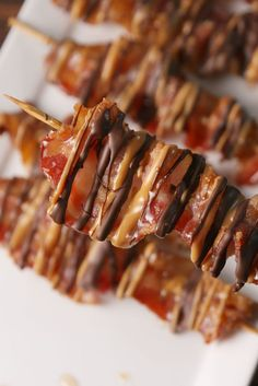 Chocolate Bacon Skewers