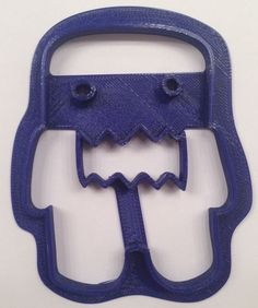 Domo Cookie Cutter - Choice of Sizes (3D Printed Plastic) #Handmade3DPrint