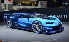 Bugatti Vision Gran Turismo Becomes Ever-So-Slightly More Real - Photo Gallery of Auto Show from Car and Driver - Car Images - Car and Driver