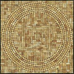 My Mandala In A Wine Cork Board Crafts Bottle