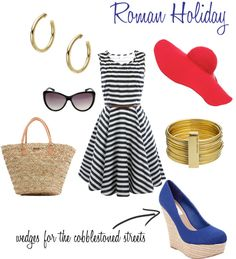 Roman Holiday, created by symo36 on Polyvore