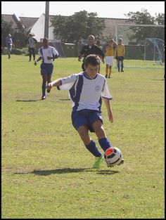 SCFC U13A vs Kensington - Liam's shot