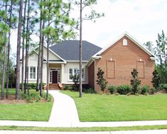Broad Windows In Front Add Superb Style To This Home Plan 024D-0064