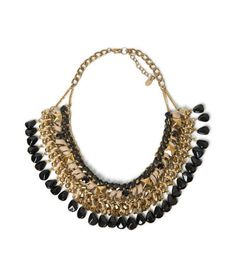 BLACK STONES NECKLACE - Accessories - Accessories - Woman - ZARA Lithuania