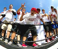 louisiana lafayette football fans - Google Search