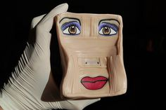 face cane by schmuckkunst (Simone Wagner)