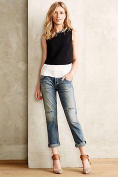 Citizens of Humanity Emerson Slim Boyfriend Jeans #anthropologie