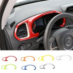 Find More Interior Mouldings Information about New Designs Candy Colors ABS Dashboard Dash Board Frame Cover for Jeep Renegade 2015 up 5 Colors Available ,High Quality cover airbag,China frame sizes for pictures Suppliers, Cheap cover usb from Mopai Auto Accessories on Aliexpress.com
