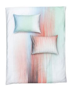 Interferences - Artist Duvet Covers / Pillows by Laura Knoops Luxury Bedding Sets, Linen Bedding, Bed Linen, Bedding Collections, Bed Design, Home Textile, Art World, Pillow Covers, Throw Pillows