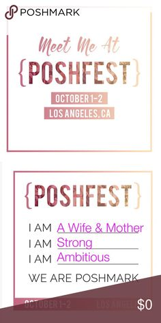Heading South for Poshfest! I can't wait to go to Poshfest again🍾 I had a blast last year and met many fabulous women. My closet wouldn't be where it is today if I hadn't gone last year! The information and networking is invaluable💕I also can't wait to meet all my share buddies in person😍💋 Other