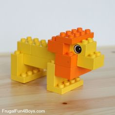 LEGO Duplo Animals to Build - Frugal Fun For Boys and Girls - LEGO Duplo Animals to Build Best Picture For diy surgical mask free pattern For Your Taste You ar - Lego Design, Legos, Lego Poster, Lego Duplo Animals, Lego Therapy, Construction Lego, Lego Club, Lego Games, Lego Building Games