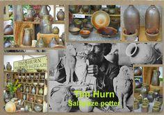 Tim Hurn wood fired saltglaze pottery.