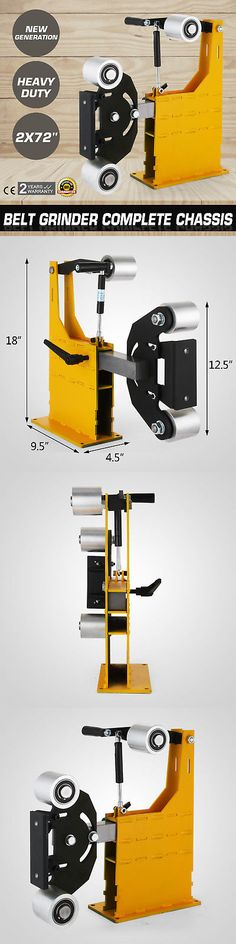 Belt Sanders 42285: 2X72 Belt Grinder Knife Making Complete Chassis Sword Welded Motors Best Price -> BUY IT NOW ONLY: $473.8 on eBay!