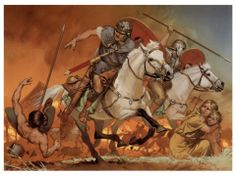 Imperial Roman Cavalrymen, I-II cent. AD.