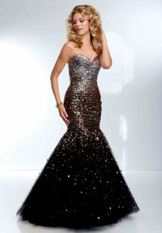 Ball Trumpet / Mermaid Sweetheart Floor-length 2014 New Style Prom Dress at Storedress.com