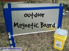Outdoor Magnetic Board (1)