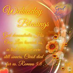 Wednesday Blessings (Romans 5:8)